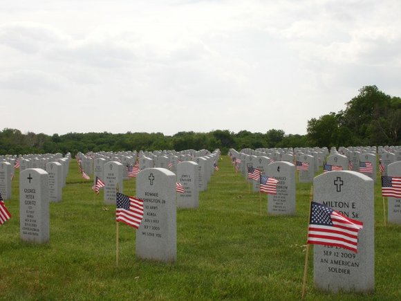 We shouldn't have to remind people that the meaning of this holiday is to stop and reflect on the sacrifices ...