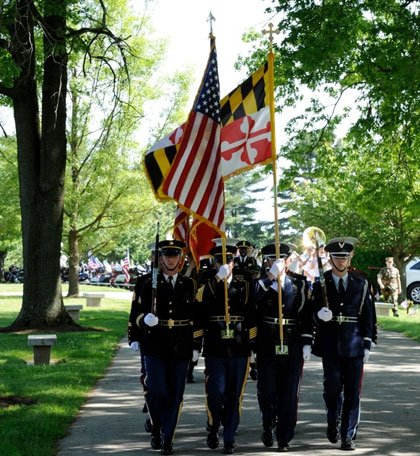 The annual Memorial Day celebration at Dulaney Valley Memorial Gardens, which salutes the men and women of the armed forces ...