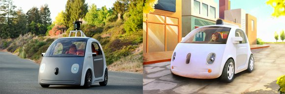Google has revealed a prototype of its latest driverless car -- and this one doesn't even have a steering wheel.