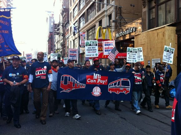 It took almost a month, but Transport Workers Union (TWU) Local 100 members officially ratified a new contract after a ...