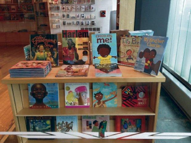 Children's book fair in Harlem