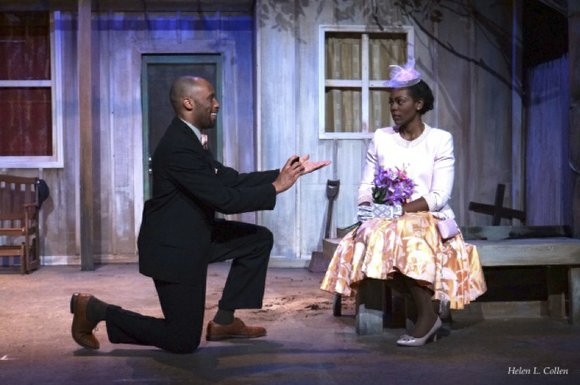 "The Billie Holiday Theatre is currently showing ""The Seeds of Abraham,"" a play that is both a drama and a ..."