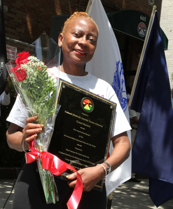 Black Veterans for Social Justice Inc. hosted its third annual parade in Bed-Stuy, Brooklyn, on Memorial Day weekend.