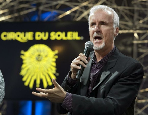 """Now that's an immersive 3-D experience. """"Avatar"""" director James Cameron is teaming up with Cirque du Soleil for a live ..."""