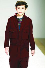 Children's fashion design by Ashley Yoon Chang