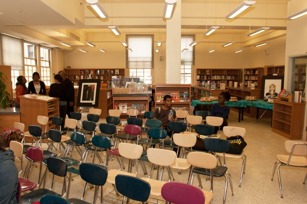 Wadleigh Secondary School's library