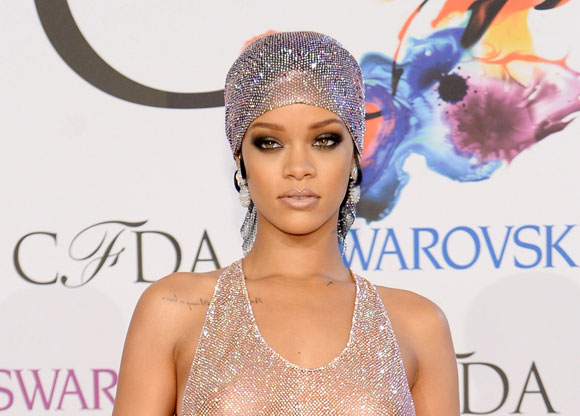 Rihanna Bares Almost All In Sheer Sparkly Dress Our Weekly Black News And Entertainment Los Angeles