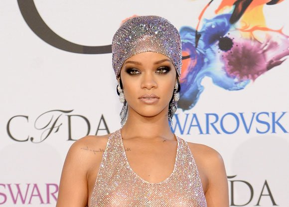 Rihanna's presence at Monday's CFDA Fashion Awards nearly eclipsed the ceremony itself, and she did it while wearing almost nothing ...
