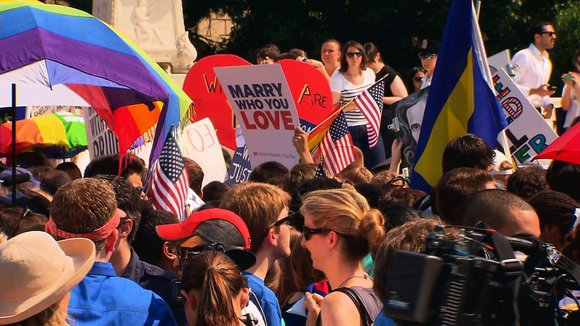 Here's some background information about same-sex marriage in the United States and worldwide.