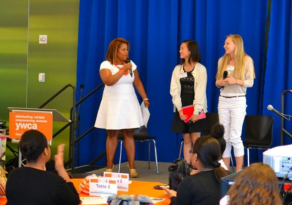 """The Young Women's Christian Association (YWCA) of the City of New York hosted the """"Potential to Power Girls Symposium to ..."""