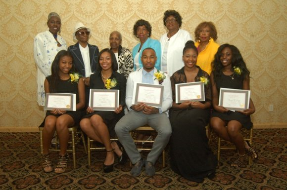 Bronx Triangle's sixth annual scholarship awards ceremony was held at Eastwood Manor Supper Club