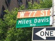 Unveiling of Miles Davis Way