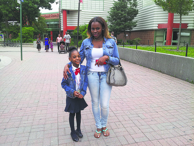 Samiya Carr and Soleta Reynolds of P.S. 30
