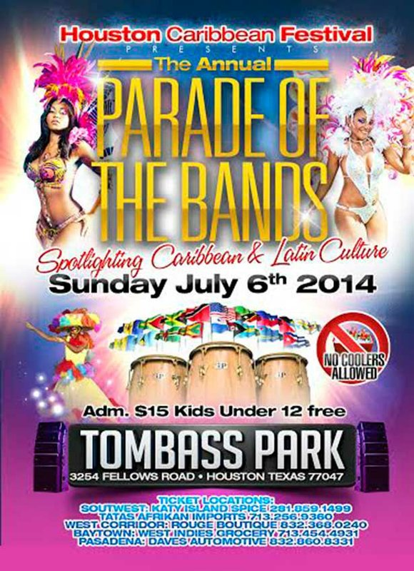 Houston Caribbean Festival Presents The Annual Parade of The Bands Spotlighting Caribbean & Latin Culture