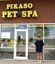 Donna DeHeer brings 15 years' pet grooming experience to her new Plainfield business, Pikaso Pet Spa, located on Wallin Drive in the same strip mall as Aurelio's Pizza.
