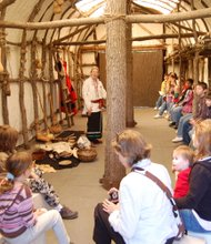 A state grant will allow the Forest Preserve District of Will County to replace and improve the Native American Longhouse at Isle a la Cache Museum in Romeoville. Thousands of school children visit the longhouse annually to learn about Potawatomi life and 18th Century fur trade.