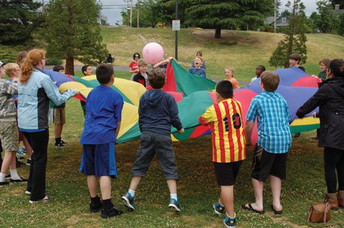 Gresham is putting a hop and a skip into summertime with Summer Kids in the Park, an eight-week Gresham parks ...