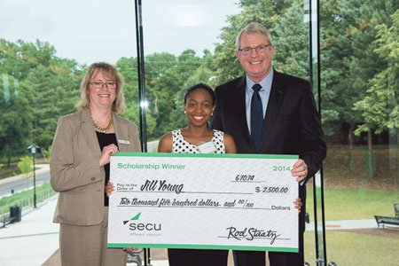 Maryland's largest financial cooperative, SECU awarded 13 scholarships as part of its annual State Employee Scholarship Program at a ceremony ...