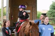 Money raised from the Chasin' Tail 5k fun run on Aug. 9 will help cover expenses for Ready Set Ride, a nonprofit group that provides horse-riding sessions for children with disabilities and terminal illnesses.