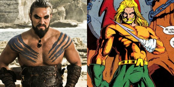 He had to keep quiet about it for the majority of last year, but now Jason Momoa can finally talk ...