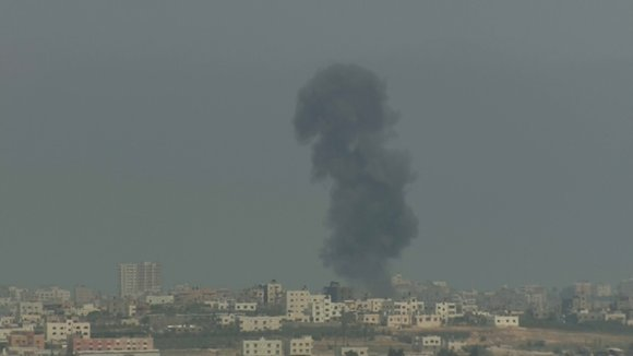 The days-long aerial bombardment of Gaza has killed at least 81 Palestinians, including women and children, and injured more than ...