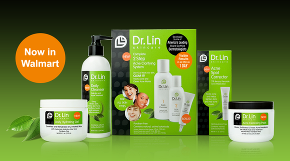 Don't hide behind a mask this fall, flaunt your face with a clear complexion! Dr. Lin Skincare Daily Cleanser and ...
