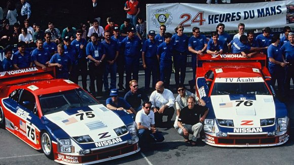 The red, white and blue Clayton Cunningham Racing Nissan Z will compete at the 2014 Rolex Monterey Sports Car Reunion ...