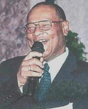 """Ronald Hamilton, president and one of the five founders of Metro Showcase, an African-American company that started in 1984. Metro Showcase travels around Baltimore with Videographer, Andre Copeland and captures live performances on videotape and is shown on """"First Impressions"""" Channel 75 in Baltimore City every Friday and Saturday night."""