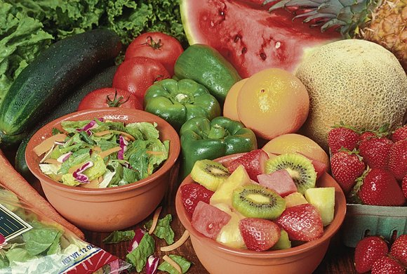 Richly colored fruits and vegetables, such as those available fresh in New York from now through the fall, are colorful ...