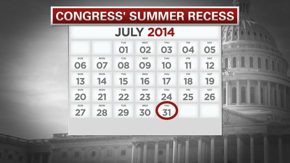 Congress faces several big issues before beginning its August recess at the end of the week. While it appears lawmakers ...