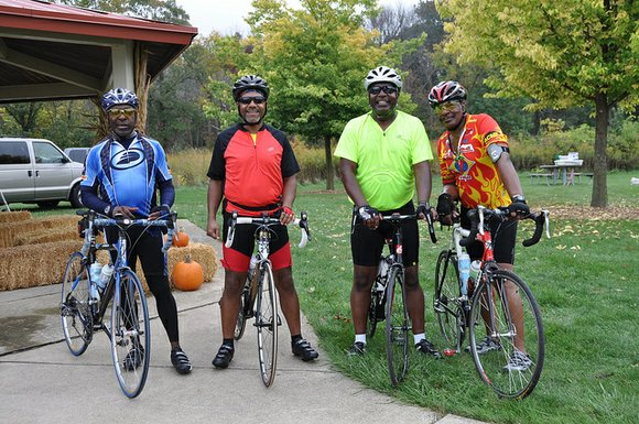 The annual New Lenox-area bike ride is held by the Forest Preserve District of Will County.