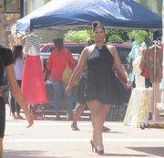 Vanessa Rosalia models at Fab@TheHarbor