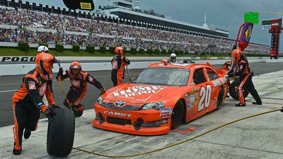 The woman claims that NASCAR or Pocono Raceway should have stopped the race or done more to warn fans of ...