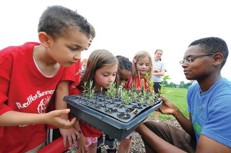"""An innovative urban agricultural program is helping to """"grow"""" Baltimore. Real Food Farm is improving neighborhood access to healthy food, ..."""