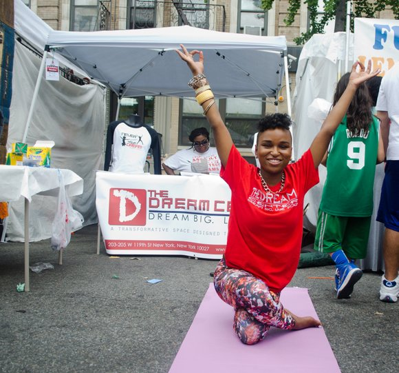 Harlem Week was in full swing yesterday as music, food and dance poured into the streets. (08/17/2014)