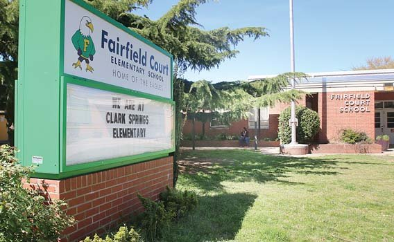 Fairfield Court Elementary is one of the many city schools that needs worn-out equipment replaced.