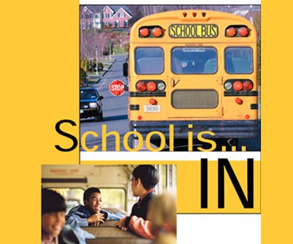 School bells are ringing and kids are everywhere. As you drive slowly through school zones, you can see and feel ...