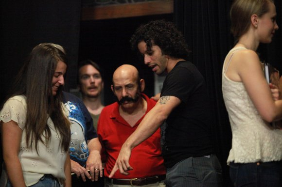 """Tonight the curtain rises on the play, """"Song of Solomon"""" which Luis Salgado, a native of Puerto Rico and resident ..."""