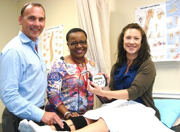 Memorial Hermann Prevention and Recovery Center (PaRC) now offers Neurolumen therapy, a non-invasive, drug-free alternative for pain relief, as a ...