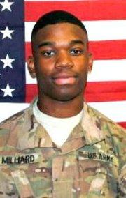 "PFC Errol ""Elijah"" Milliard was killed in combat in Afghanistan in 2013 while serving in the U.S. Army."