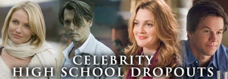 Celebrities that dropped out of school yet landed on their feet.
