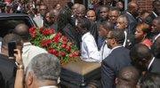 Thousands mourn Michael Brown in Ferguson