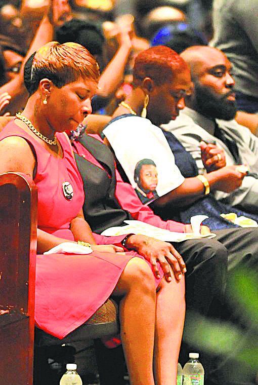 Monday, Aug. 25, thousands of mourners packed the Friendly Temple Missionary Baptist Church in Ferguson, Mo., for the funeral of ...
