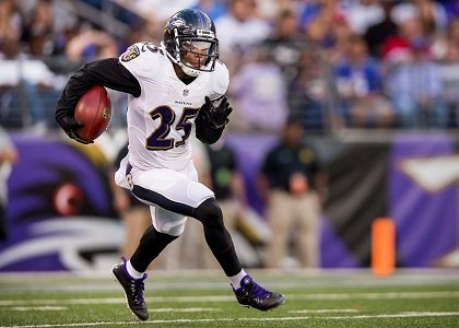 The Baltimore Ravens were one of the first teams to get their roster down to 75 players.