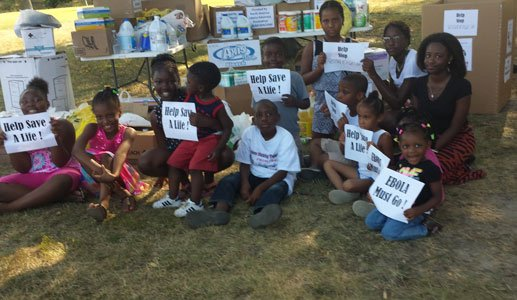 The local Liberian community is collecting supplies to help fight their Ebola stricken homeland.