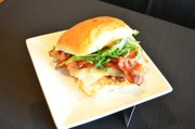 """Chef Grady Spears' """"No Bull"""" Texans Chicken Stack"""
