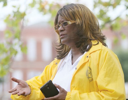 Carmen Taylor, president of the state NAACP