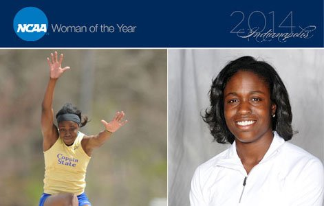 Coppin State University track and field standout Christina Epps has advanced to the top 30 round in the 2014 NCAA ...