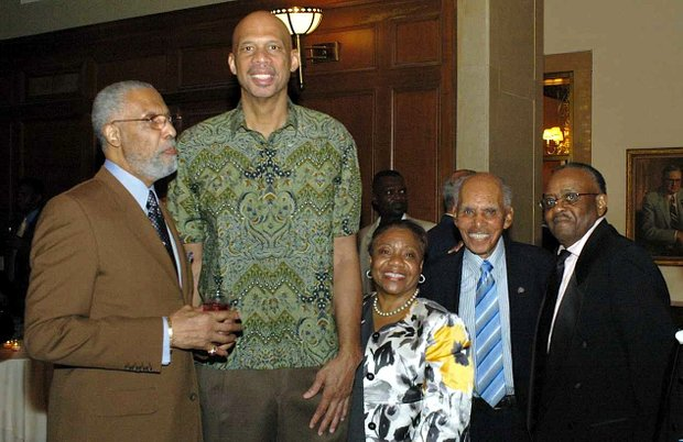 Kareem Abdul–Jabbar was inducted in the first NYC Basketball Hall of Fame class in 1990. The 25th induction ceremony is set for Sept. 16 at the New York Athletic Club.