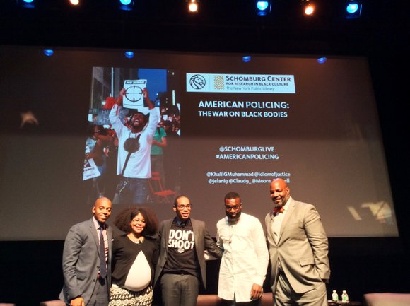 A fired up crowd gathered last week at the Schomburg Center for Research in Black Culture for a town hall ...